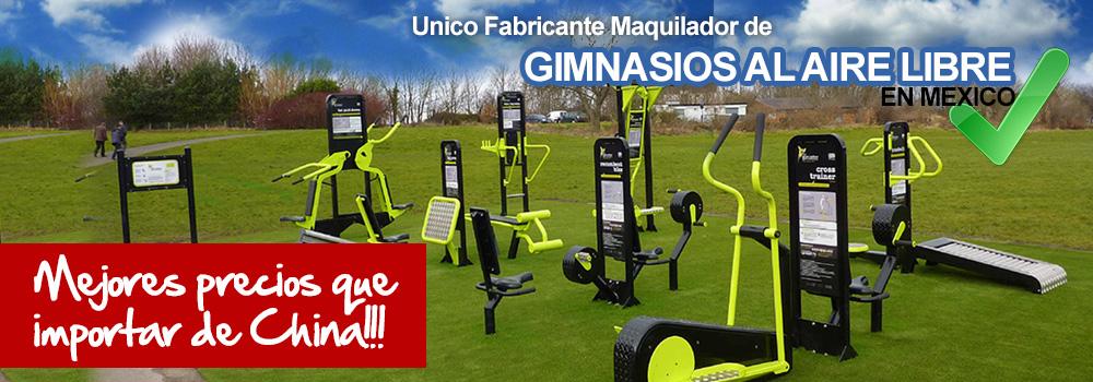 Gimnasio al aire libre fabricante de ejercitadores for Precios de gimnasios